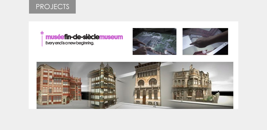 fin de siècle museum touch application